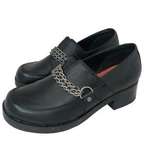 Harley Davidson Women's Leather Katey Oxford Clog
